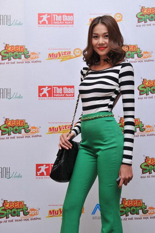 'Soi' BST quần jean màu của Thanh Hằng - 9