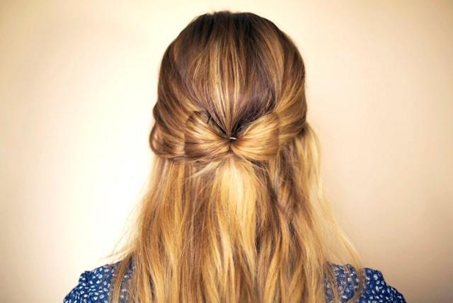 Hướng dẫn tết tóc nơ bướm đơn giản dễ thương
