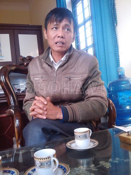 Ông Nguyễn Việt Hùng, Bí thư Đảng ủy xã Thanh Lâm (Lục Nam, Bắc Giang)
