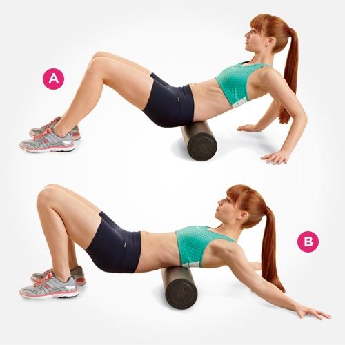 7 bài tập với con lăn giúp bạn khỏe mạnh toàn thân 4