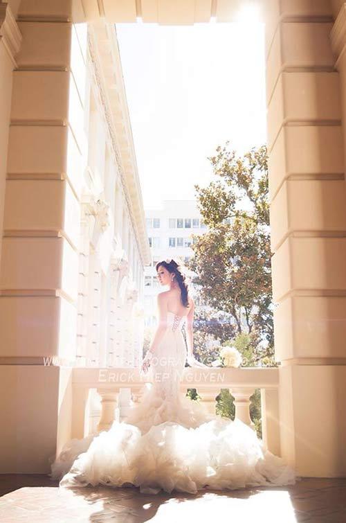 Lộ ảnh cưới của Ngọc Quyên và chồng bác sĩ - 2
