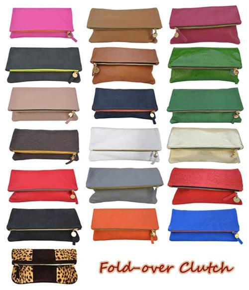 Dẫn đầu xu hướng phụ kiện 2013 với Fold-over clutch 9