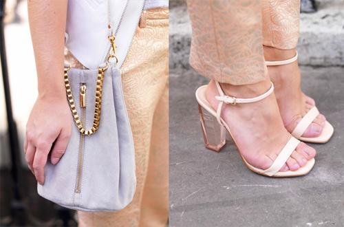 """""""Refresh"""" style ngày hè với giày cao gót trong suốt 5"""