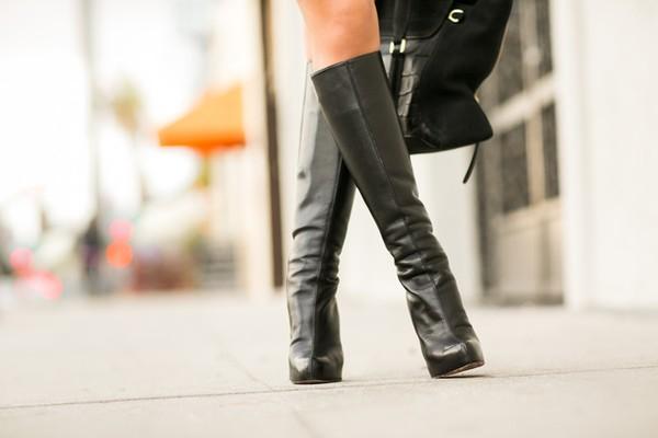 """Công thức chọn và phối boots cao cổ cho nàng """"chân ngắn"""" 7"""