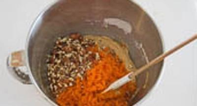 Mềm thơm hấp dẫn món bánh cupcake cà rốt 12