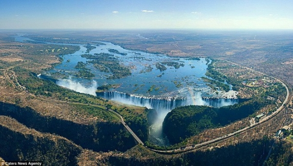 Thác Victoria ở Zambia
