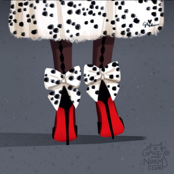 Ngất ngây trước những thiết kế giày dành riêng cho các nhân vật Disney