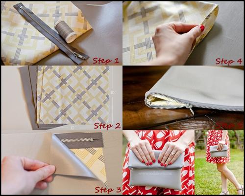 Dẫn đầu xu hướng phụ kiện 2013 với Fold-over clutch 12