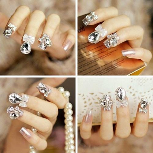 Muôn kiểu nail xinh cho cô dâu ngày cưới - 9