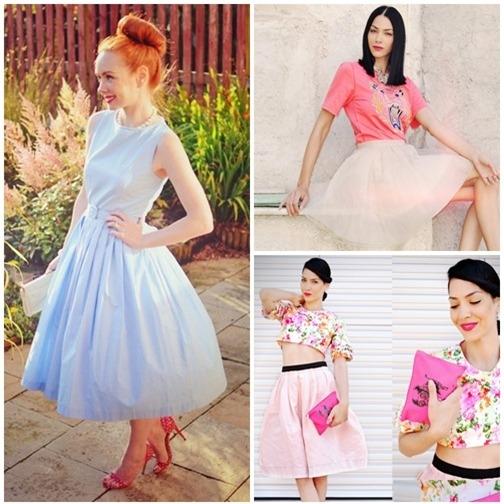 Váy xòe nào đang 'tung hoành' street style? - 13