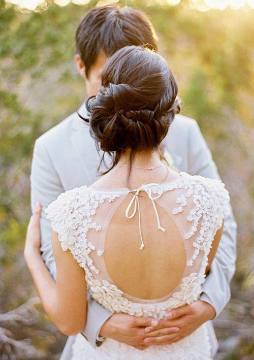 Váy cưới tôn lưng thon mềm mại lên ngôi mùa thu - 1