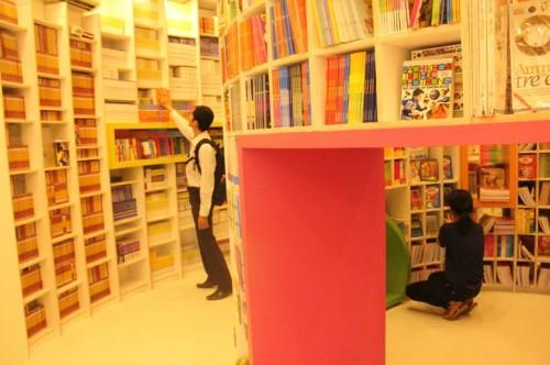 Thiết kế không gian sách khác lạ