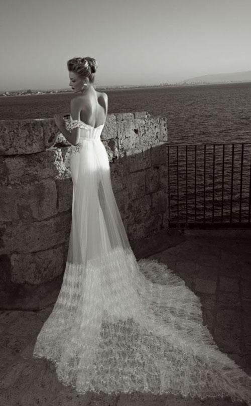 Váy cưới tôn lưng thon mềm mại lên ngôi mùa thu - 6