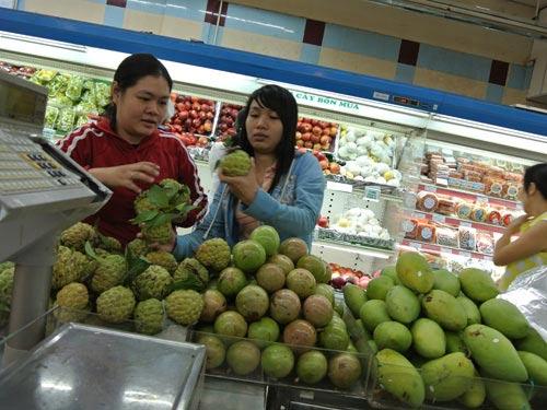 Cách nhận biết trái cây Trung Quốc, Thị trường - Tiêu dùng, Trai cay Trung Quoc, trai cay, Trung Quoc, nhap khau, nong san, thuc pham, trai cay ngoai, kich thich, bao quan, nguoi tieu dung, chat bao quan