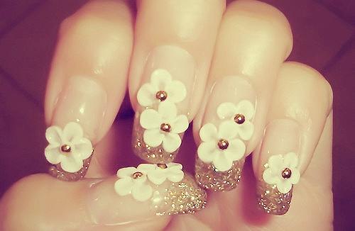 Muôn kiểu nail xinh cho cô dâu ngày cưới - 4