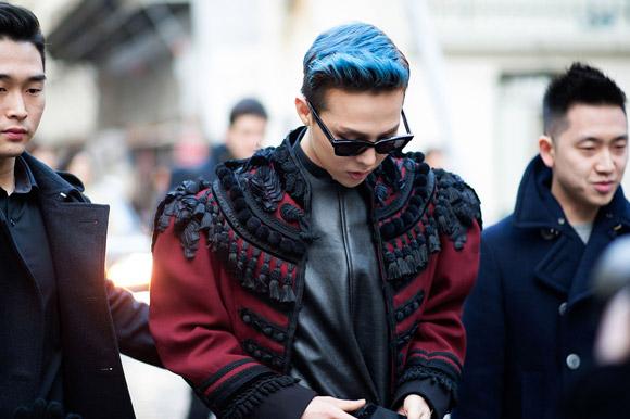 Street style cực chất của GDragon và Taeyang tại Paris Fashion Week