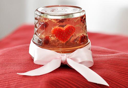 Thạch trái tim dễ làm cho Valentine - 11