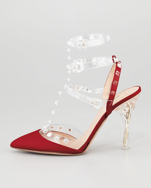 """""""Refresh"""" style ngày hè với giày cao gót trong suốt 2"""