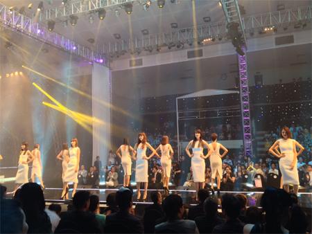 Trực tuyến chung kết Vietnam's Next Top Model 2012