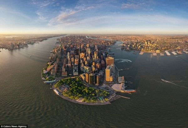 Một góc thành phố New York.