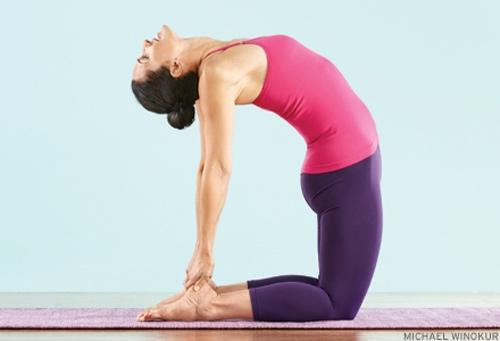 6 động tác yoga làm giảm đau lưng - 6