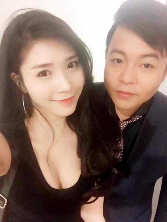 Quang Lê và bạn gái cũ Thanh Bi.