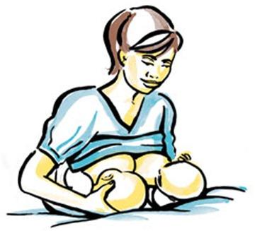 Cho con bú: 5 tư thế dễ chịu nhất mẹ nên biết 5