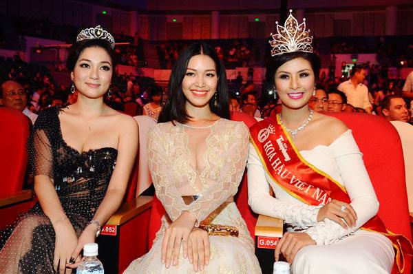 Lâu lắm rồi, ba nhan sắc Nguyễn Thị Huyền, Thùy Dung và Ngọc hân mới có dịp hội ngộ.