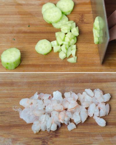 Công thức cơm thập cẩm cuộn trứng cho bữa sáng thịnh soạn 2