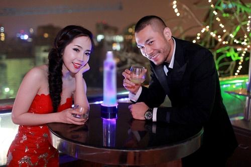Bạn gái đại gia, xinh đẹp của sao nam Việt 2013 - 13