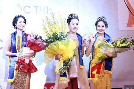 Cuộc thi Nữ hoàng sắc đẹp 2014 kết thúc vào tối 13/7 với kết quả cao nhất được trao cho Trần Thị Yến Hoa, Á hoàng 1 thuộc về thí sinh Dương Kim Ánh và Á hoàng 2 là Đặng Thu Hằng.