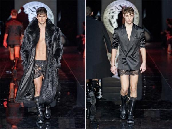 Giật mình với BST để lộ nguyên quần chíp của Versace 12