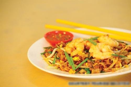 Món char kuay teow nổi tiếng ở Penang. Ảnh: CNN.