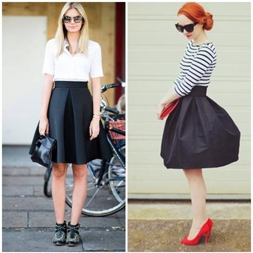 Váy xòe nào đang 'tung hoành' street style? - 16