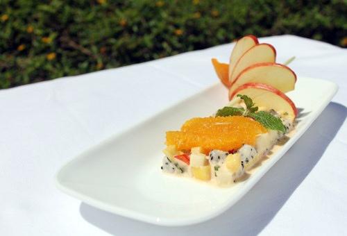 Lạ miệng salad thịt heo trái cây - 1