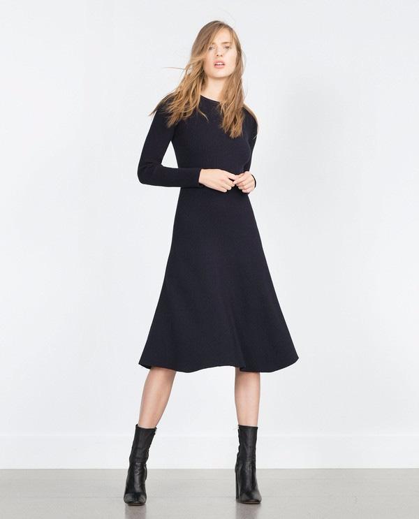 váy len