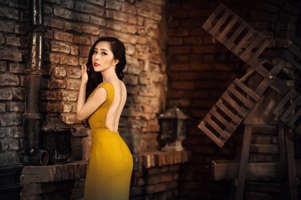 Bạn gái đại gia, xinh đẹp của sao nam Việt 2013 - 17