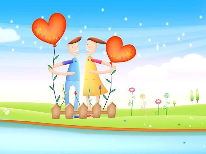 Song Tử và người yêu vô cùng tâm đầu ý hợp.