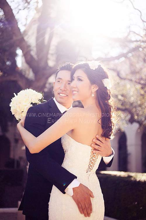 Lộ ảnh cưới của Ngọc Quyên và chồng bác sĩ - 3