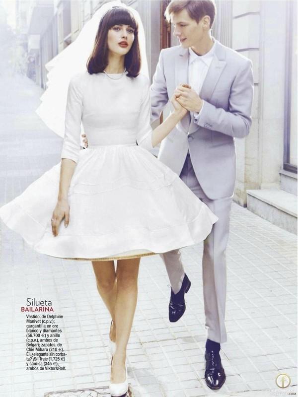 """Little White Dress - chiếc váy """"quyền lực"""" của phái đẹp Hè 2013 12"""