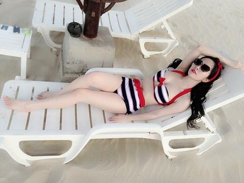 Bạn gái đại gia, xinh đẹp của sao nam Việt 2013 - 16