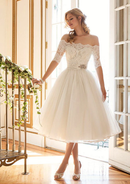 12 mẫu váy cưới ngắn đáng yêu và lộng lẫy (edit)
