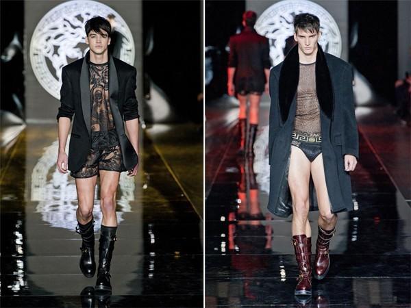 Giật mình với BST để lộ nguyên quần chíp của Versace 10