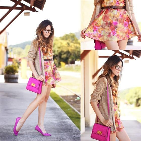 túi xách màu neon, túi xách xu hướng 2014