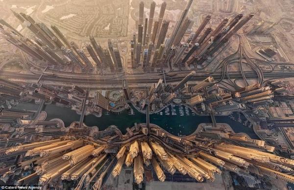 Toàn cảnh thành phố Dubai.