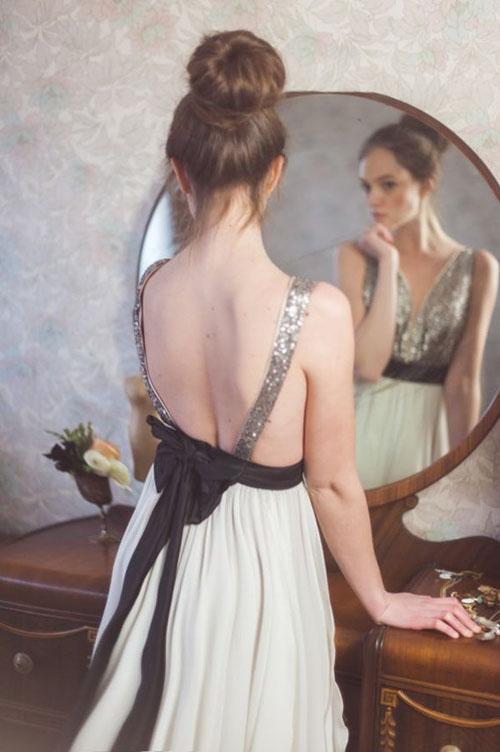 Váy cưới tôn lưng thon mềm mại lên ngôi mùa thu - 2