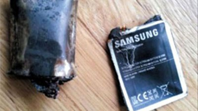 Galaxy Note bất ngờ phát nổ trong... túi quần