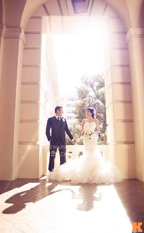 Lộ ảnh cưới của Ngọc Quyên và chồng bác sĩ - 1