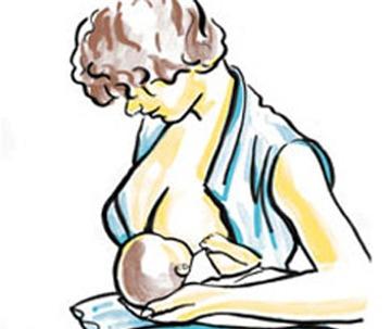 Cho con bú: 5 tư thế dễ chịu nhất mẹ nên biết 4