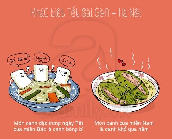 Khám phá những điểm khác biệt giữa ngày Tết ở Sài Gòn - Hà Nội 7